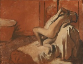 Degas-après le bain