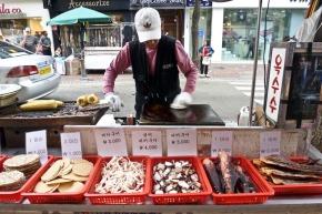 vendeur de poulpe
